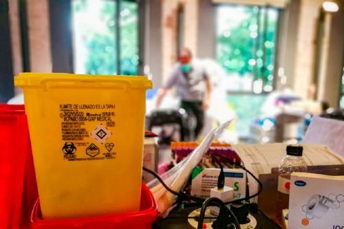 El Banc de Sang recull un centenar de donacions i anuncia que encara hi ha hores disponibles al Vapor