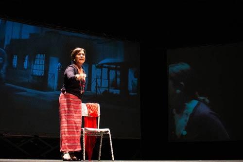 La Companyia8, de Terrassa, representa 'Dones i silenci' en el marc de la Mostra de Teatre