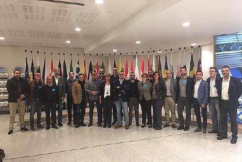 El regidor Antonio Egea forma part d'una delegació del PSC que reivindica a la UE nous ajuts per als municipis