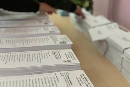 Tots els candidats i candidates a l'alcaldia han votat aquest matí