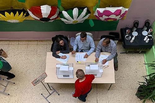 Manuel Cruz (PSC) va ser el candidat al Senat amb més vots a Santa Perpètua