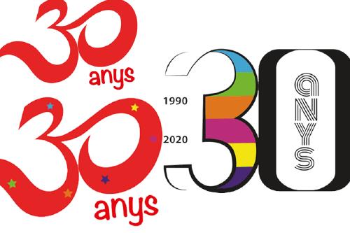 Diumenge finalitza l'enquesta per triar el logo dels 30 anys de la Xarxa de Centres Cívics