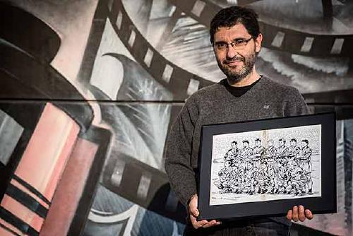 ''A la nostra cultura el futbol ha estat sempre molt present al còmic''