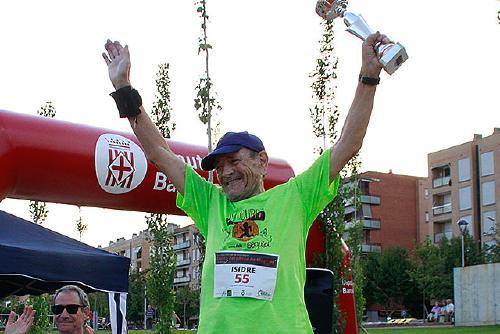 ''Per celebrar els meus 85 anys tinc el repte de fer 100 curses aquest any''