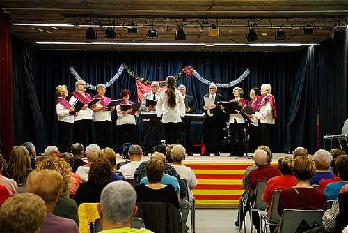 El programa 'Envelliment Actiu' mostra les seves activitats durant la Festa de Nadal