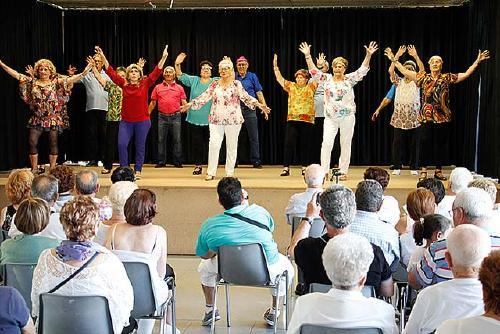Avui se celebra la festa de Cloenda del Programa Envelliment Actiu