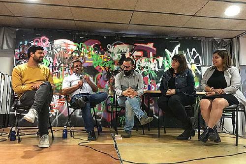 El candidat d'ERC Pol Altayó rep el suport de l'exalcalde Pere Bufí, del diputat Ruben Wagensberg i d'Oriol Junqueras