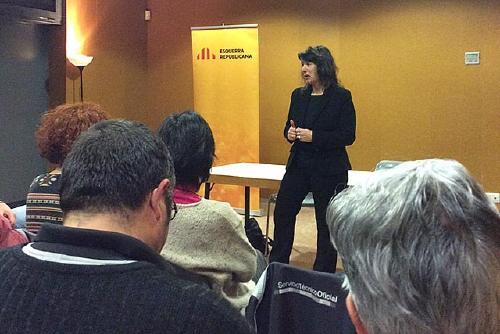 ERC-MES inicia la campanya La República que farem amb una xerrada sobre polítiques d'igualtat