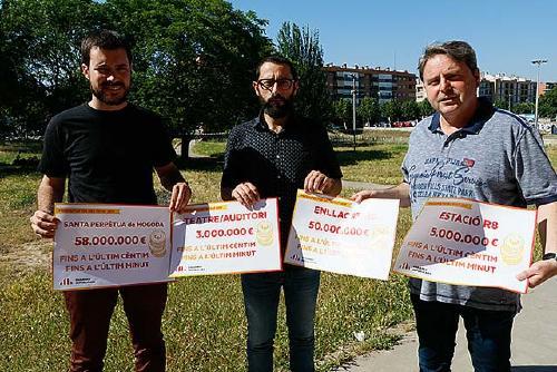 ERC reclama a l'Estat 58 milions d'euros per a la connexió de la R3 i la R8, l'estació i el Teatre-Auditori