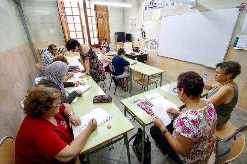 Les matrícules a l'Escola d'Adults es faran del 2 al 9 de setembre