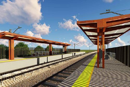 Renfe licita les obres de construcció de la nova estació de la R8