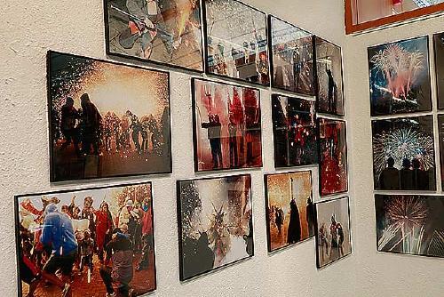 Avui s'inaugura l'exposició Contraportada i demà Pirotècnica de Festa