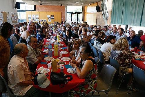 L'onada de calor marca la Festa del barri de la Florida