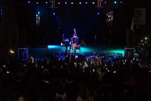 La Festa de la Ràdio, amb Alfred Garcia, atreu unes 700 persones
