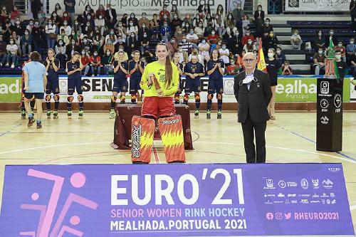 Tercer campionat d'Europa per Laura Vicente