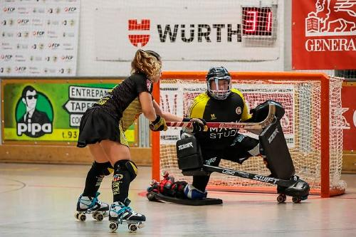 La final a quatre de la Lliga Catalana femenina d'hoquei patins es disputarà a Santa Perpètua