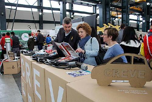 Santa Perpètua presenta l'oferta de FP, l'ElectroCat i l'SPMakers a Fira de Sabadell