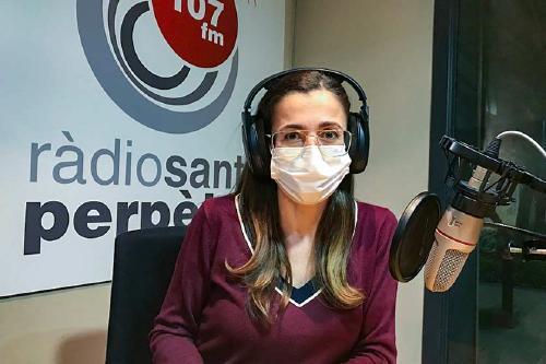 'Sense sortir de casa', nou programa de Ràdio Santa Perpètua conduit per Gemma Abasolo
