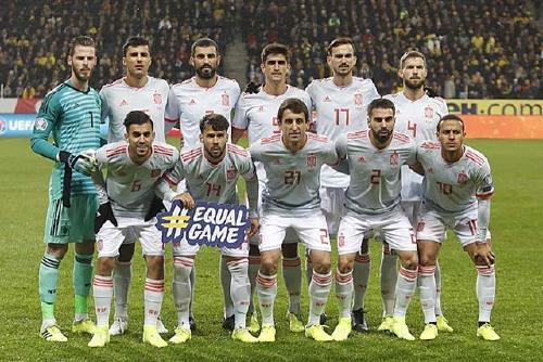 Gerard Moreno debuta amb la selecció espanyola
