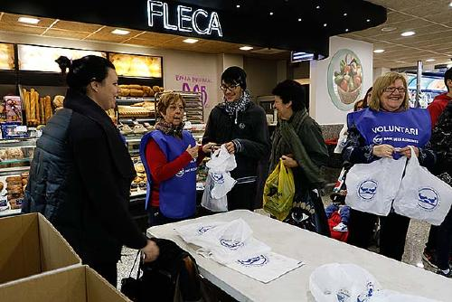 Santa Perpètua se suma un any més a El Gran Recapte d'Aliments