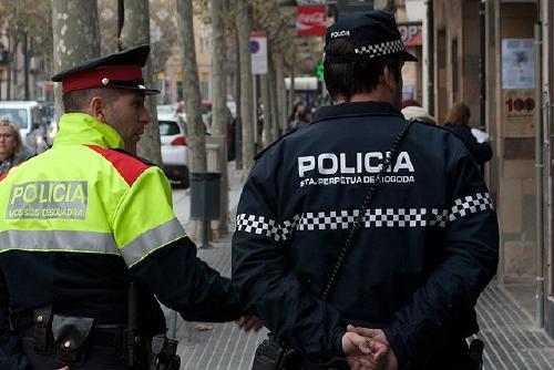 Policia Local i Mossos d'Esquadra fan patrulles mixtes aquest Nadal