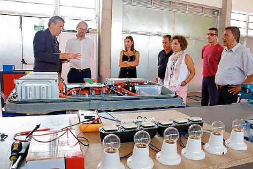 L'Ajuntament presenta al director de l'IDAE el projecte SAVIES