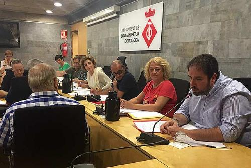 El PSC de Santa Perpètua fa una crida al diàleg i l'acord entre Govern central i Generalitat