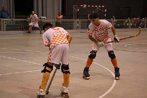 El primer equip del CH Dalmec empata a dos gols amb el Palafrugell