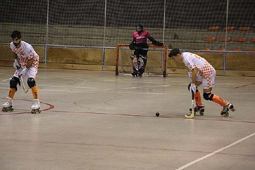El Club Hoquei Dalmec Santa Perpètua guanya a la pista del Lleida