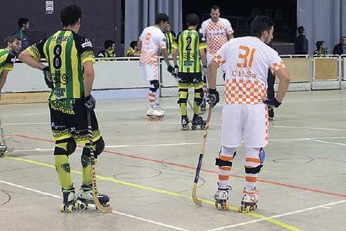 El sènior del Club Hoquei Dalmec derrota el cuer i manté el liderat a falta de cinc jornades