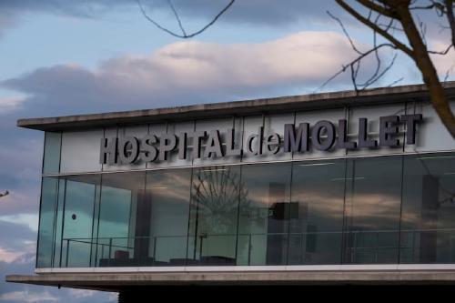 L'Hospital de Mollet redueix el nombre de persones ingressades amb Covid19