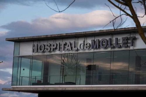 La situació de l'Hospital de Mollet segueix estable amb 17 ingressats per Covid-19