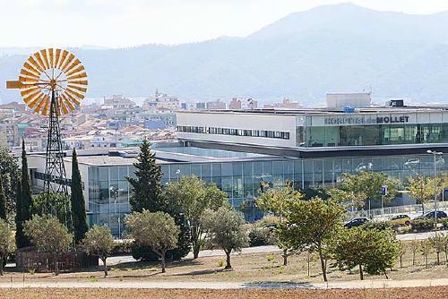 L'Hospital de Mollet registra dos persones ingressades per Covid-19