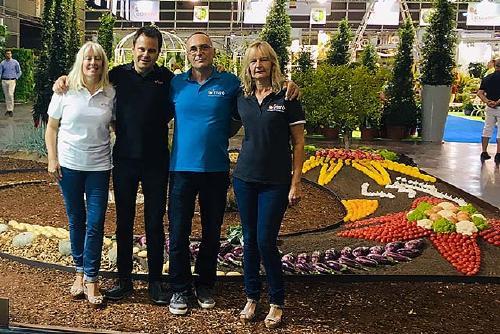 El perpetuenc Xavier Miró representa Catalunya en un concurs de jardineria