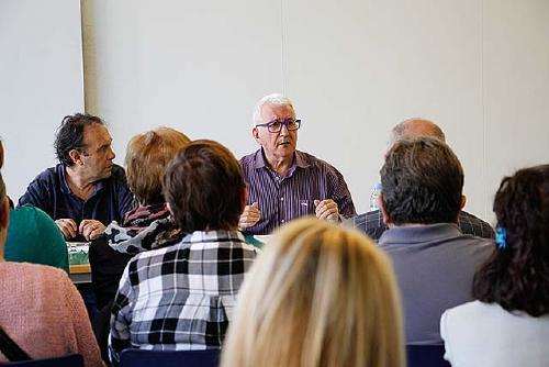 Ramon Pla (ICV) defensa el sosteniment del sistema públic de pensions a través d'impostos a les transaccions financeres