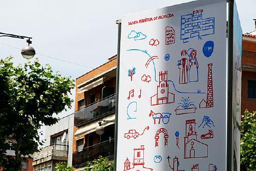 Santa Perpètua presenta una nova imatge de ciutat realitzada per la il·lustradora Bel Bufí