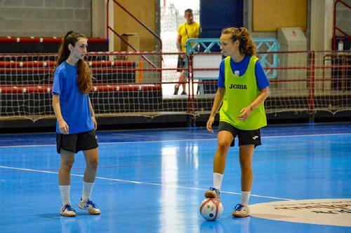 Iris Amaro jugarà dissabte el primer partit per l'ascens a la Primera Divisió