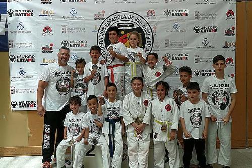 El Sasori Team de Santa Perpètua, campió d'Espanya per equips infantil i adult a l'Open d'Espanya de Combat Jiu-Jitsu