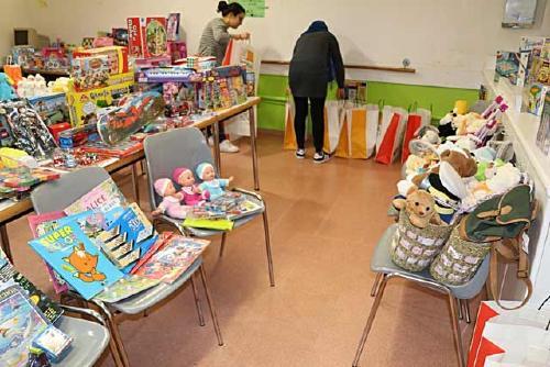 Demà finalitza la campanya de recollida de joguines