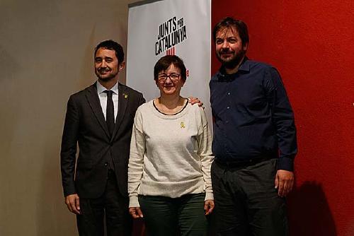 Junts per Catalunya presenta aquest vespre la seva candidatura