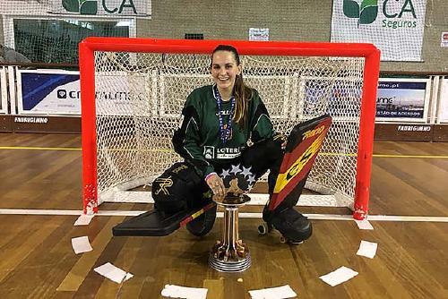 Laura Vicente disputa la Fase Final de la Copa de la Reina d'hoquei patins