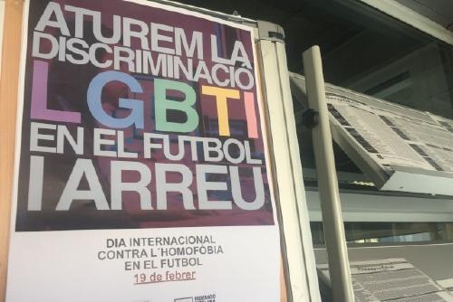 Les Regidories d'Esports i Igualtat, contra la discriminació LGTBI al futbol
