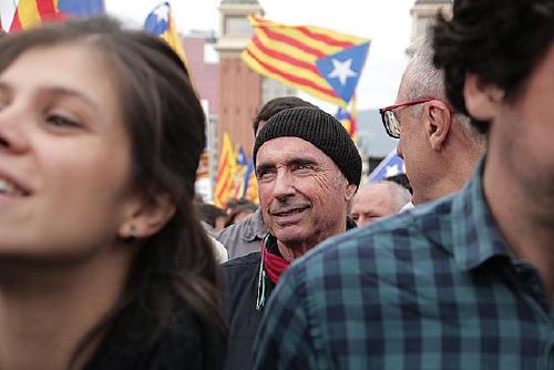 Lluís Llach participa avui en un acte de l'ANC al Centre Cívic El Vapor