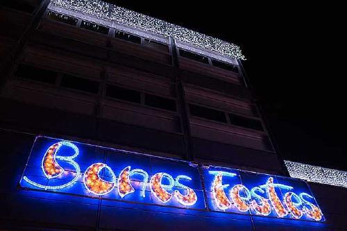 Els llums de Nadal s'encenen aquesta tarda