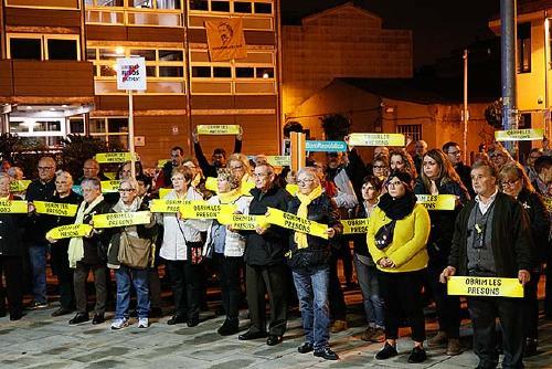 Nova mobilització ciutadana coincidint amb els 13 mesos de l'empresonament dels 'Jordis'