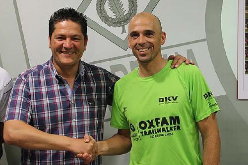 Óscar Castel continuarà com a entrenador del primer equip de la UCF Santa Perpètua
