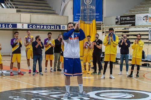 El jugador de bàsquet Albert Griso ha plegat aquesta temporada després d'una llarga trajectòria