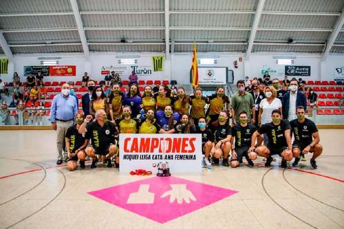 Laura Vicente guanya la Lliga Catalana amb el Generali Palau