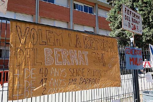 Les AMPA d'Els Aigüerols i de l'Estela Ibèrica reclamen més inversió en els centres escolars
