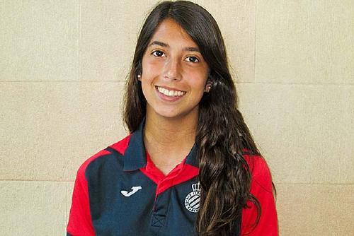 Paula Jiménez guanya  la lliga amb l'Espanyol